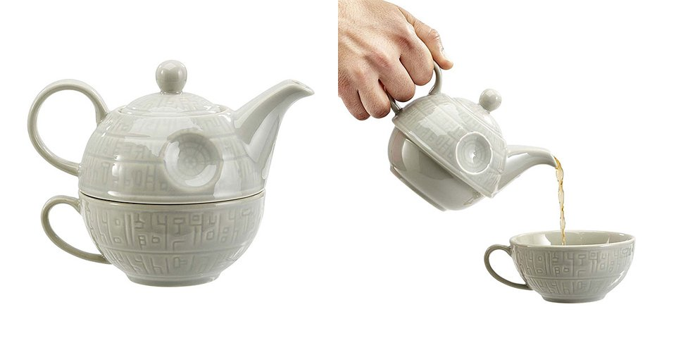 Death Star Teapot & Mug
