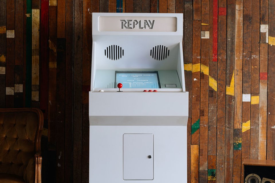 Stoa Replay Arcade Cabinet