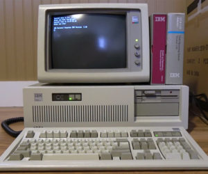 Unboxing a 1988 IBM PC