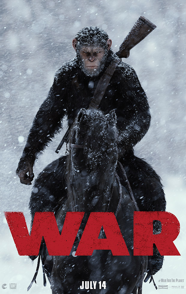 War for the Planet of the Apes (Trailer)