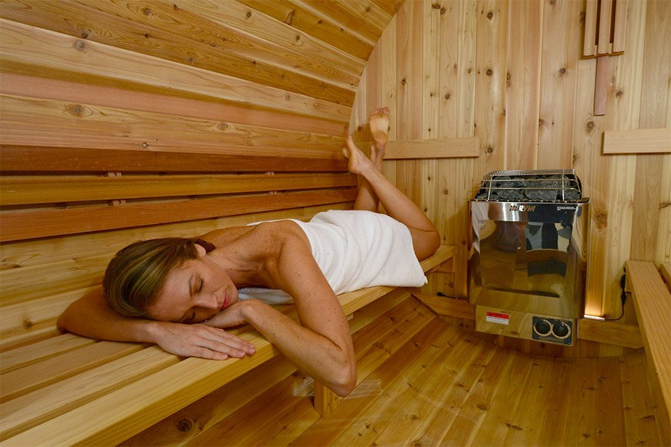 Wood Barrel Saunas