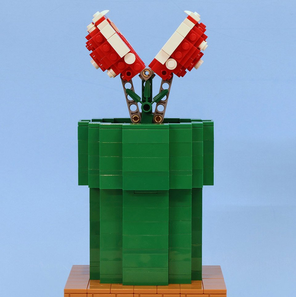 Working LEGO Piranha Plant