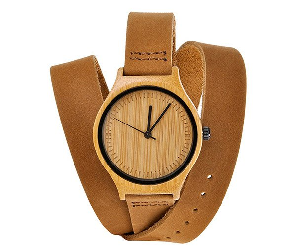 ZLYC Bamboo Watch