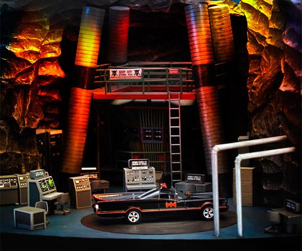 1966 Batcave Diorama