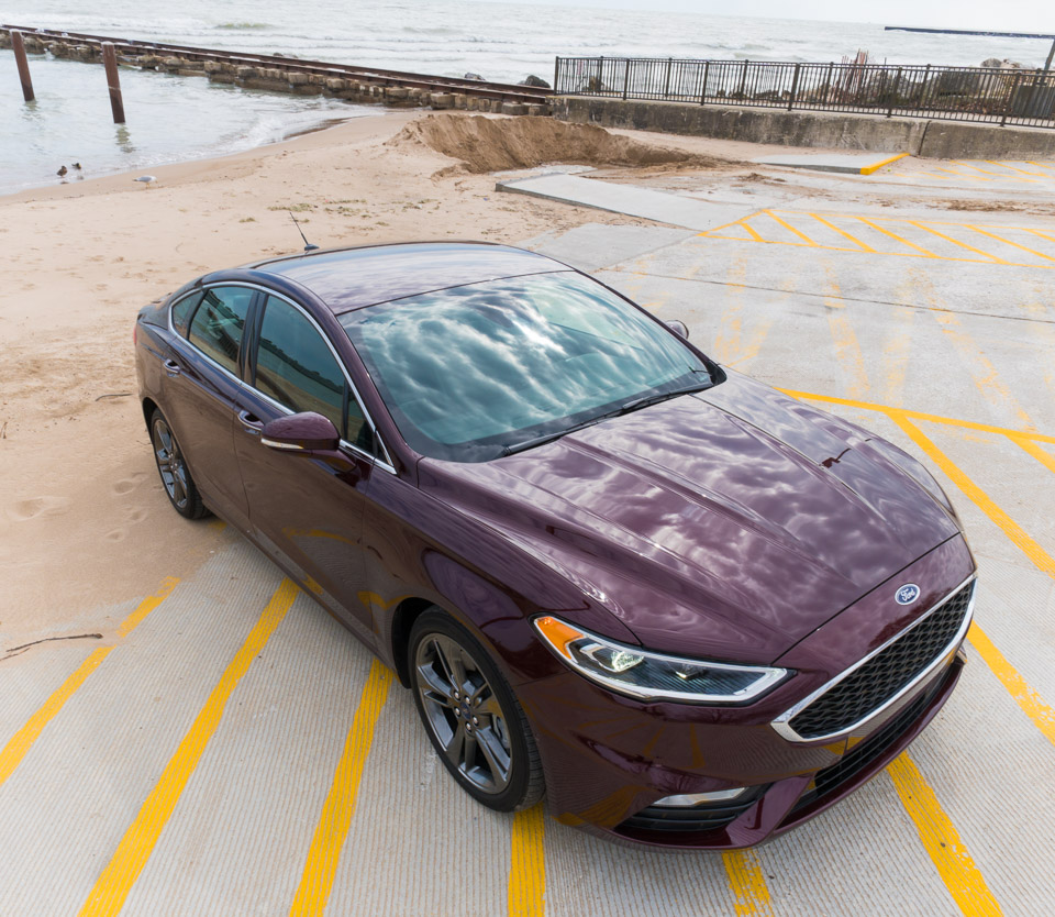 Driven: 2017 Ford Fusion Sport