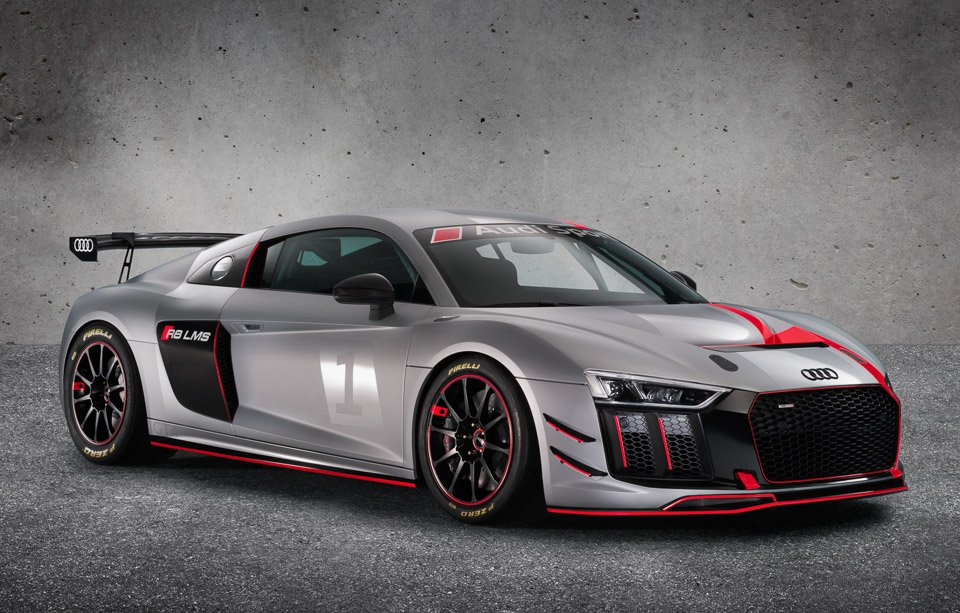 audi r8 lms gt4 - the awesomer