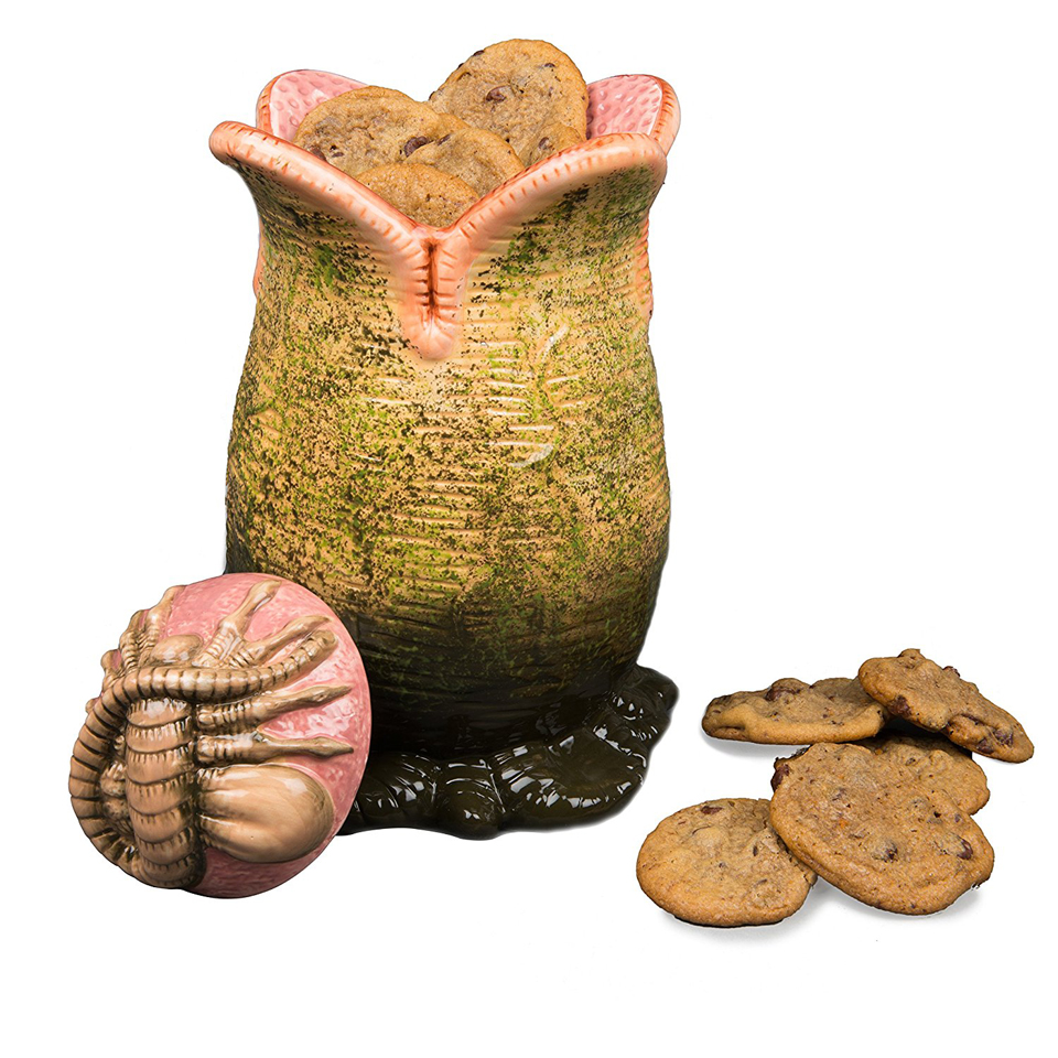 Alien Egg Cookie Jar