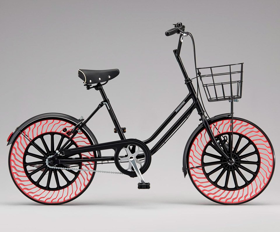 Bridgestone Air Free Bike Tires