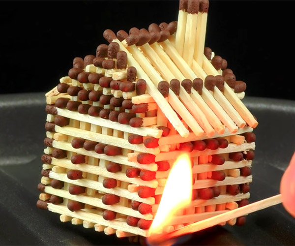 Building a Matchstick House