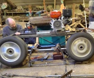 DIY Car Wheel Bandsaw