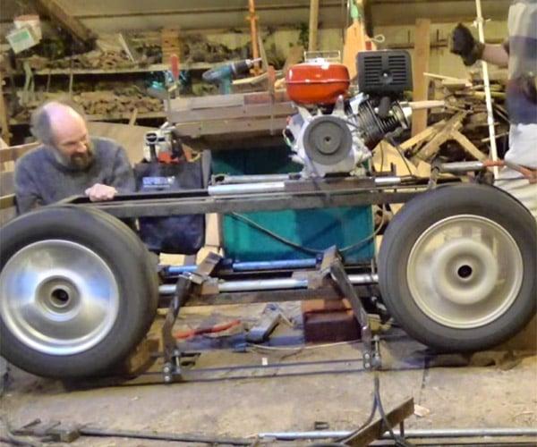 DIY Car Wheel Bandsaw