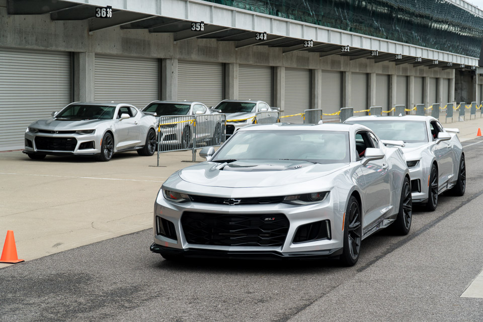 A Day at the Track with Chevy