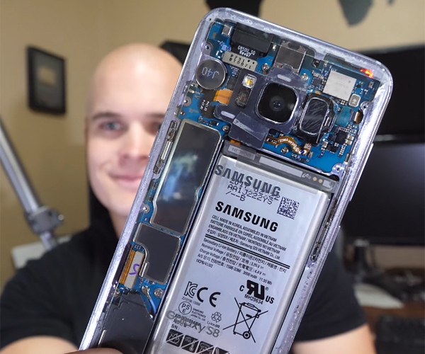 DIY Transparent Galaxy S8