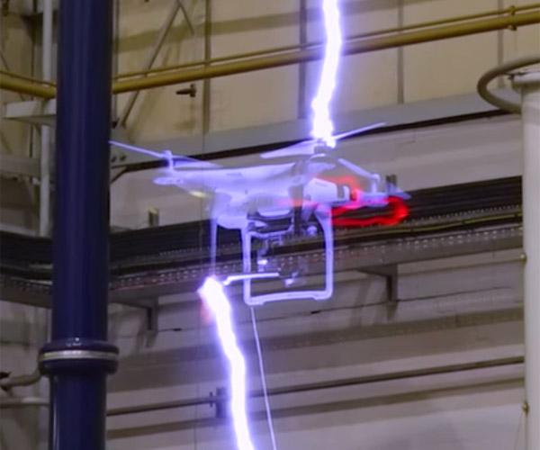 Drone vs Lightning