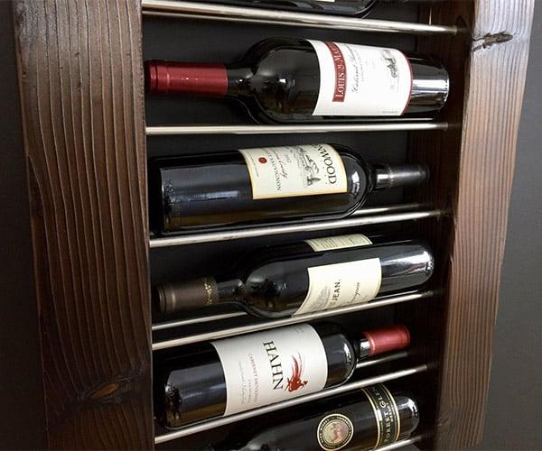 Exposed Bottle Wine Racks