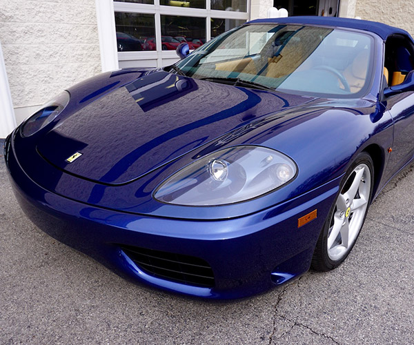 Driven: Ferrari 360 Spider