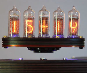 Relay Levitating Nixie Clock