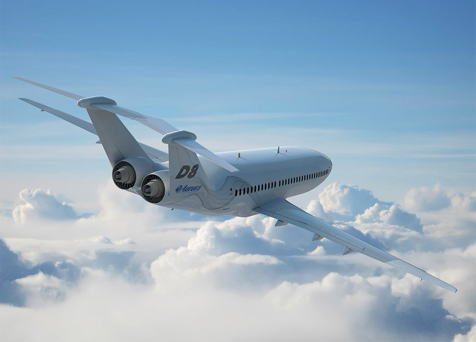 The Future of Airliners: Aurora D8