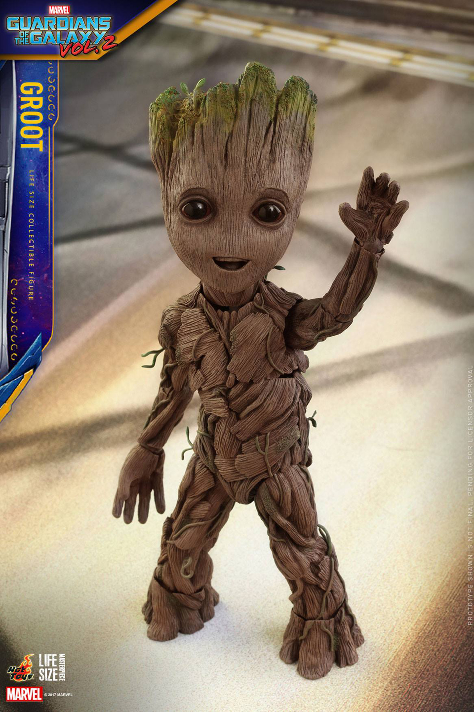 GotG Vol. 2 Life-size Groot Figure