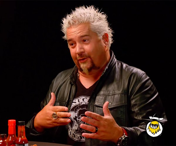 Guy Fieri vs. Hot Wings