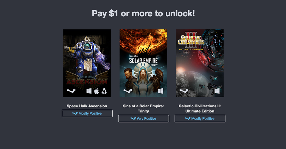 Humble Intergalactic Bundle
