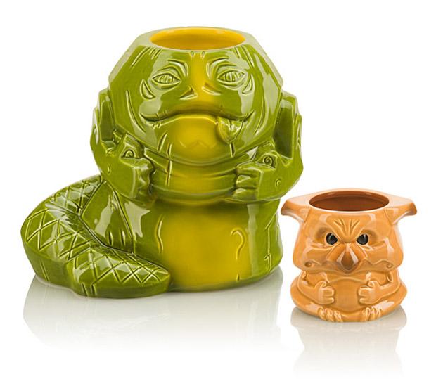 Jabba & Crumb Geeki Tikis