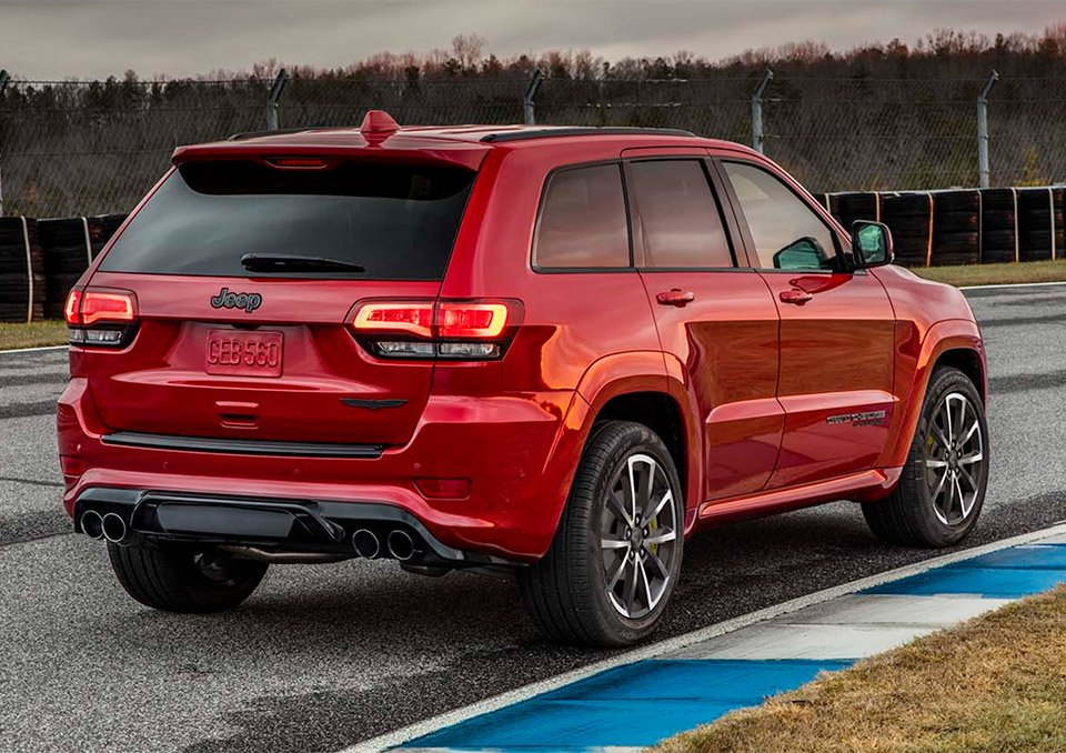 Jeep Grand Cherokee Trackhawk The Awesomer