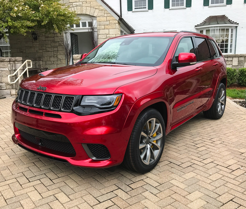 Grand Cherokee Trackhawk: Up Close