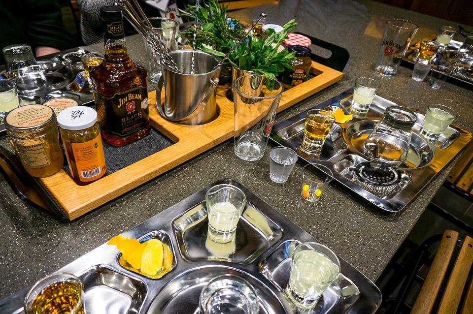 Inside the Jim Beam Distillery