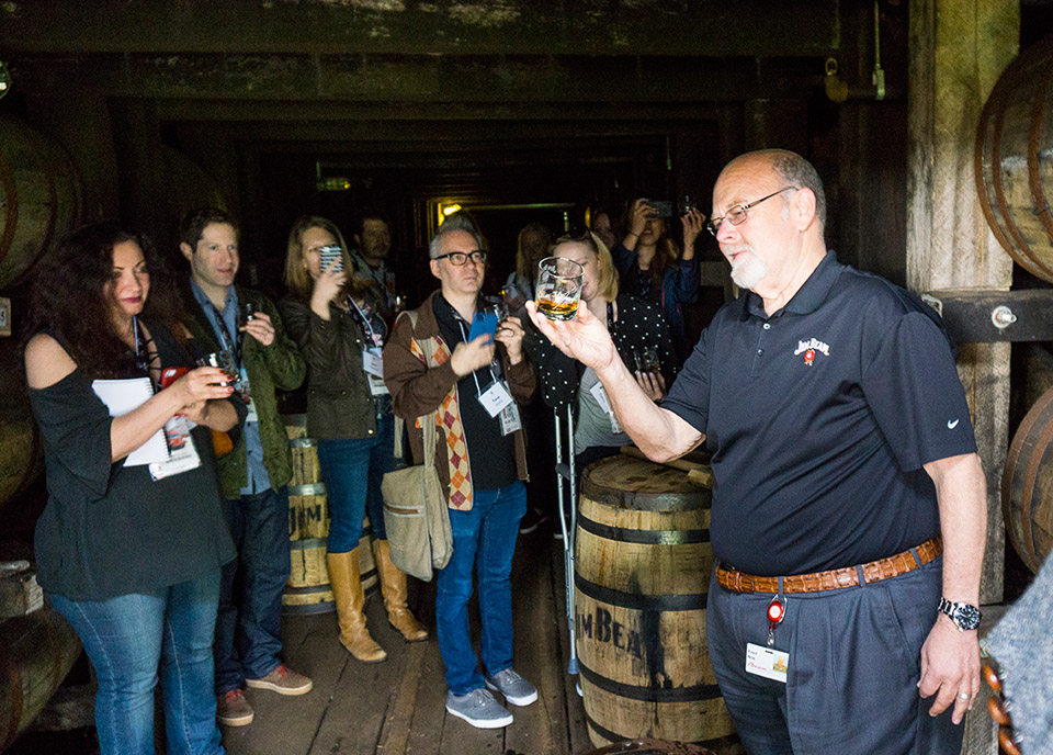 Inside the Jim Beam Distillery