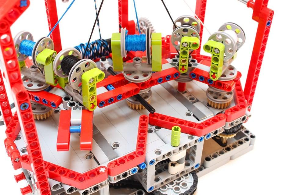 LEGO Braiding Machine