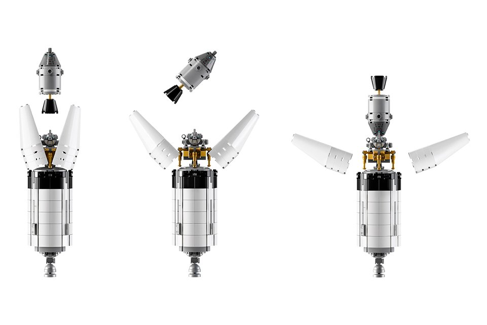 LEGO Apollo Saturn V Rocket