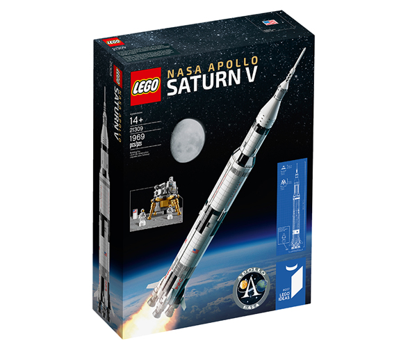LEGO Apollo Saturn V Rocket