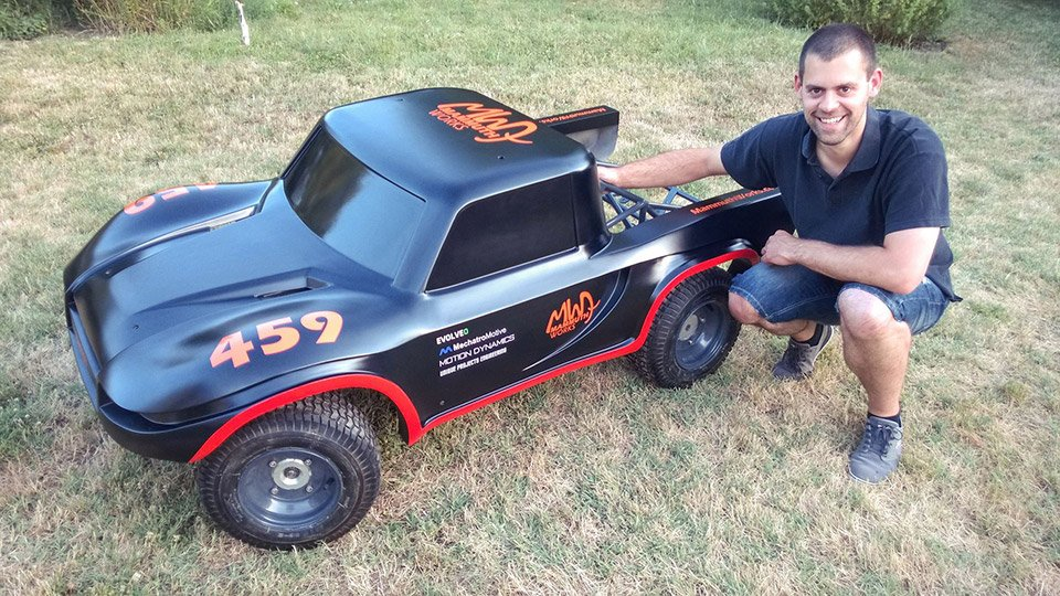 1/3rd Scale R/C Truck
