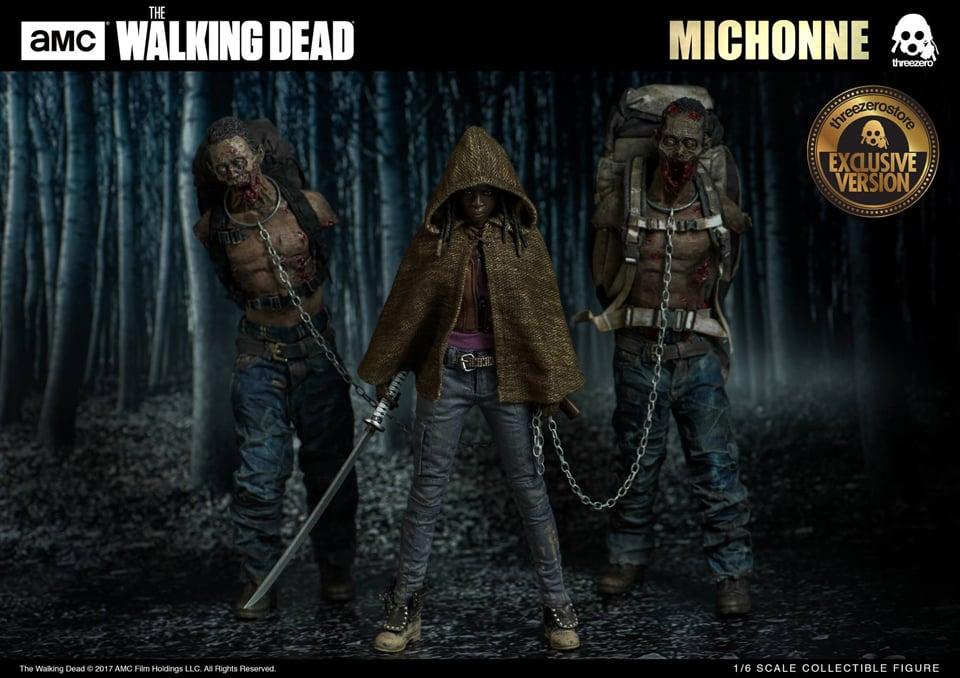 Michonne & Pets Action Figures