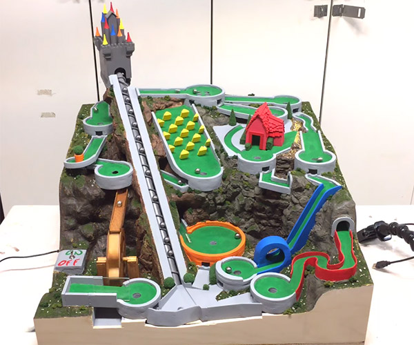Mini Golf Marble Machine