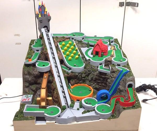 Mini Golf Marble Machine