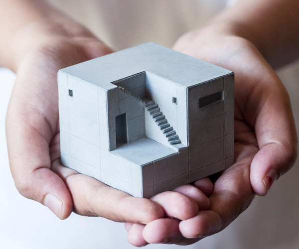 Mini Concrete Homes