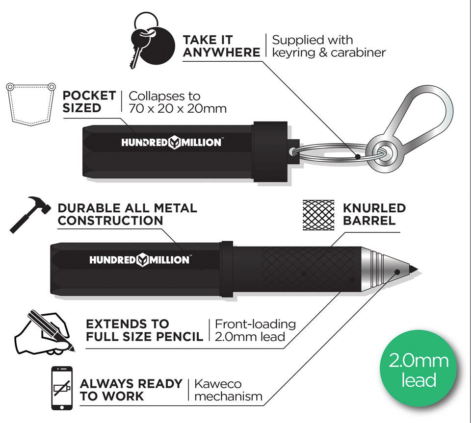 Pencilest EDC Mechanical Pencil