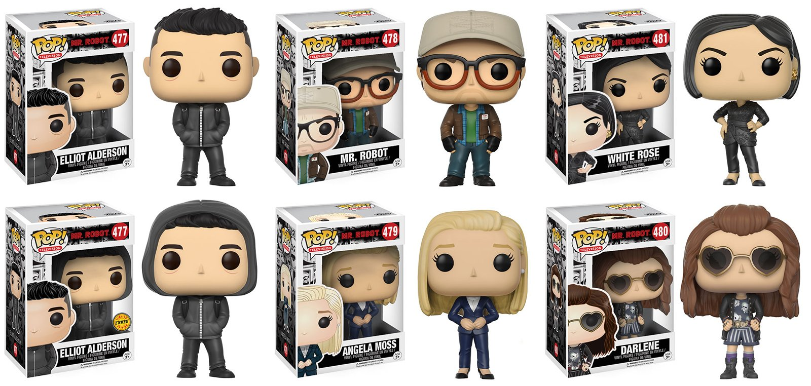 Funko POP! x Mr. Robot
