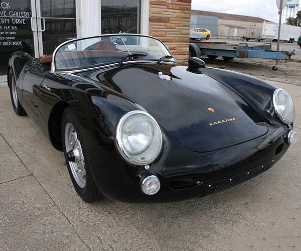 Driven: Porsche 550 Spyder Replica