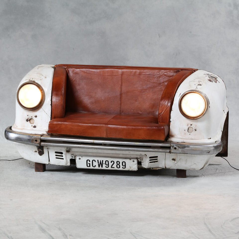 Reclaimed Car Sofa