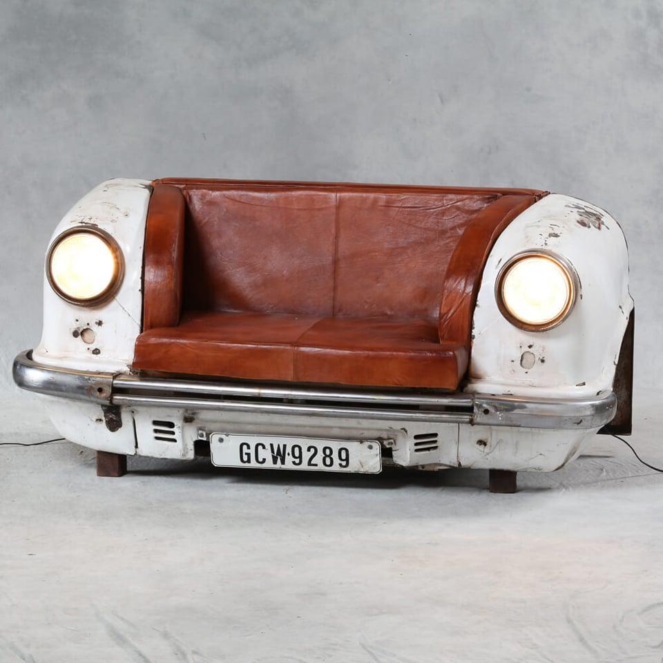 Merveilleux Reclaimed_car_sofa_1
