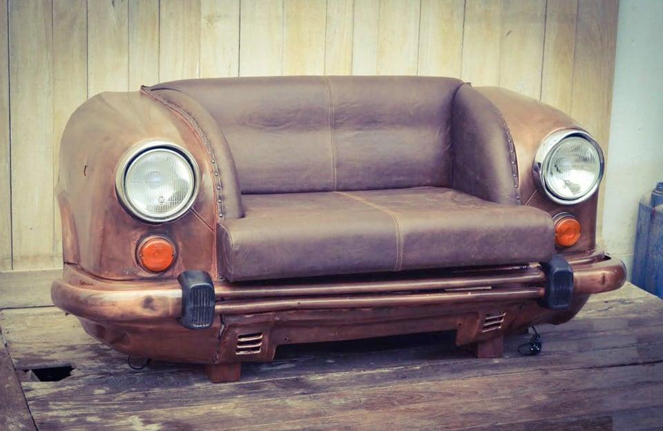 Genial Reclaimed_car_sofa_4