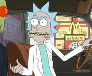 Rick & Morty & Szechuan Sauce