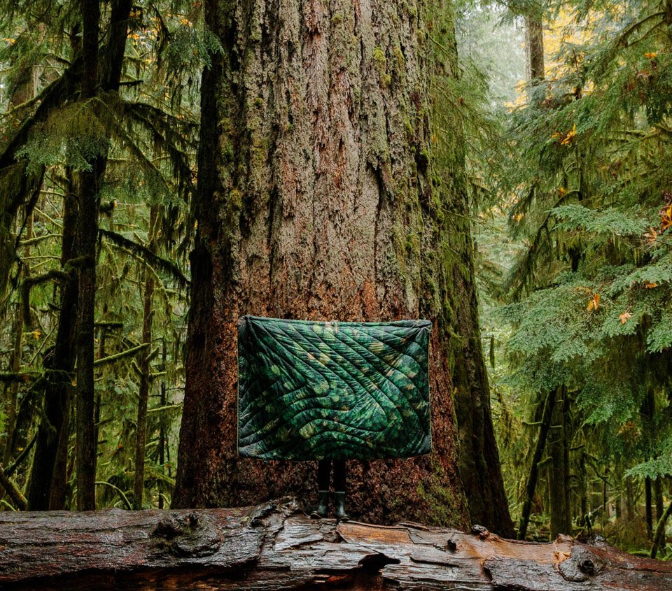 Old Growth Puffy Blanket