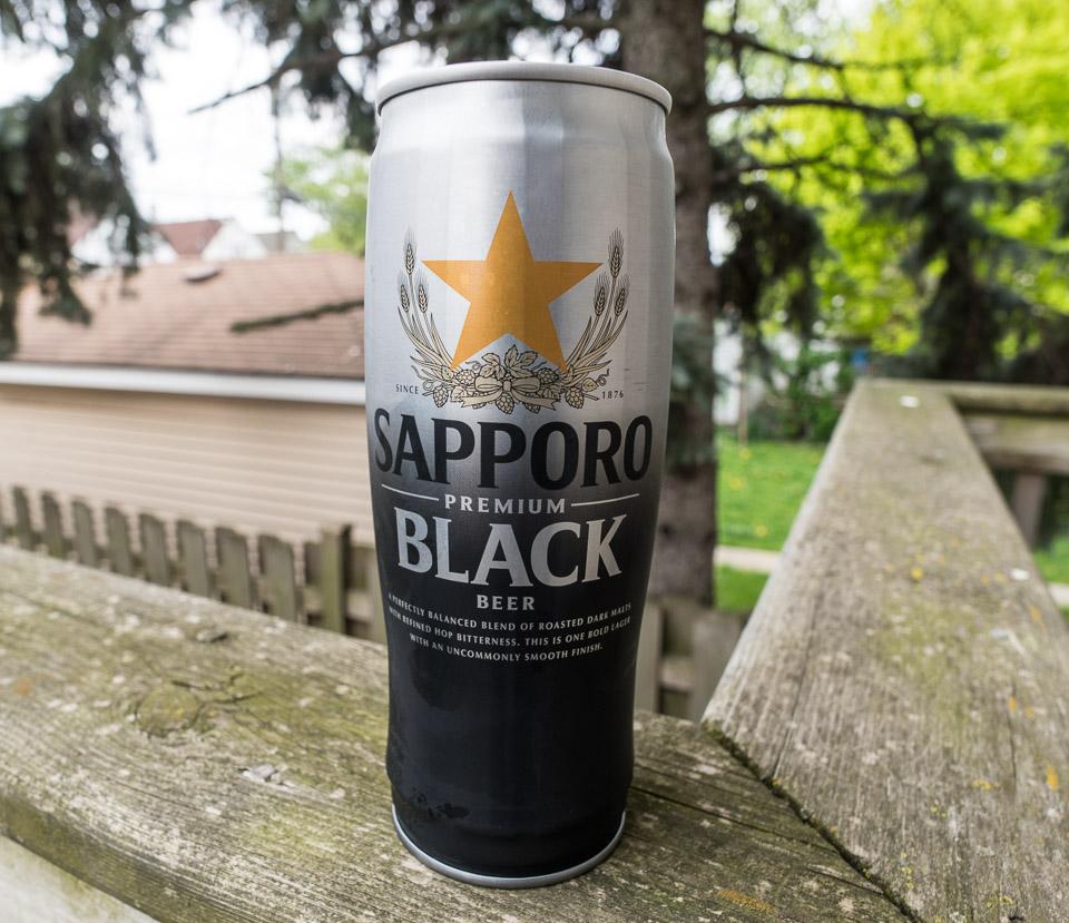 Sapporo Premium Black Beer