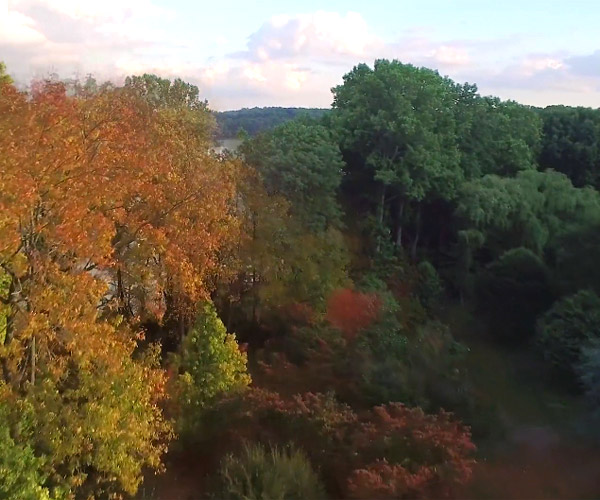 Seasonal Drone Time-Lapse