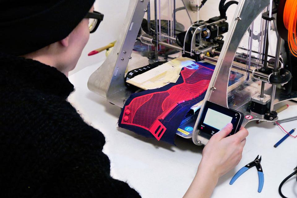 Shoetopia 3D Printed Shoe Concept