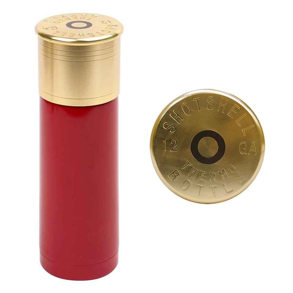 Shotgun Shell Thermos - The Awesomer